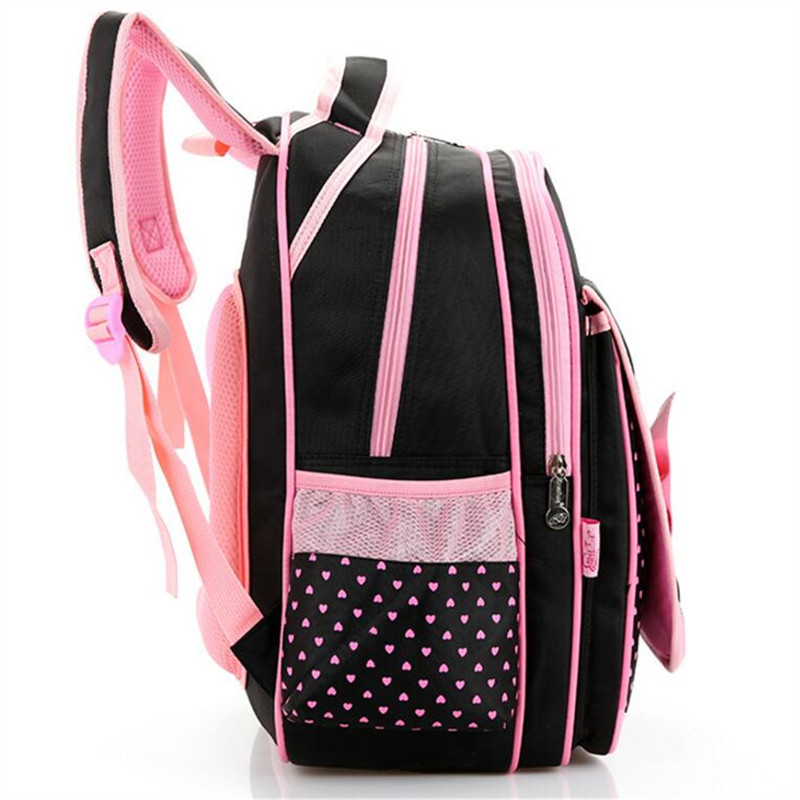 00fc164a91 High quality Mochilas Schoolbags 2018 Children School Bags For Girls  waterproof nylon bow Backpack Kid Bag Girl Schoolbook Bag-in School Bags  from Luggage ...