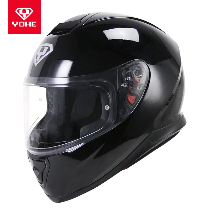 2017 winter New warm YOHE Full Face Motorcycle Helmets YH976  Full Cover Motorbike Helmet cap made of ABS and with PC Lens Visor