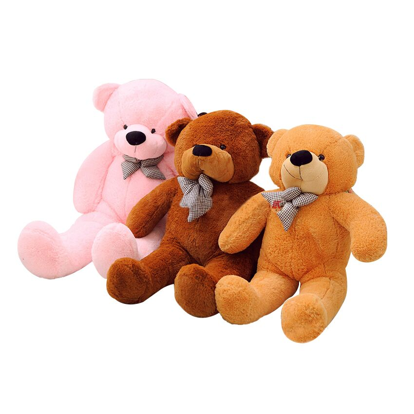 100cm Giant Teddy Bear Plush Toys Stuffed Teddy Cheap Pirce Gifts for Kids Girlfriends Christmas Gifts fancytrader biggest in the world pluch bear toys real jumbo 134 340cm huge giant plush stuffed bear 2 sizes ft90451
