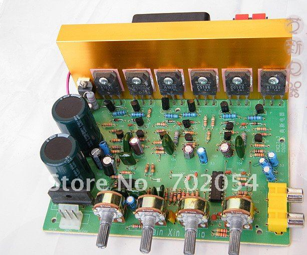 2 1 Channel Amplifier Pcb Board Hi Fi Car Audio 18v 24v