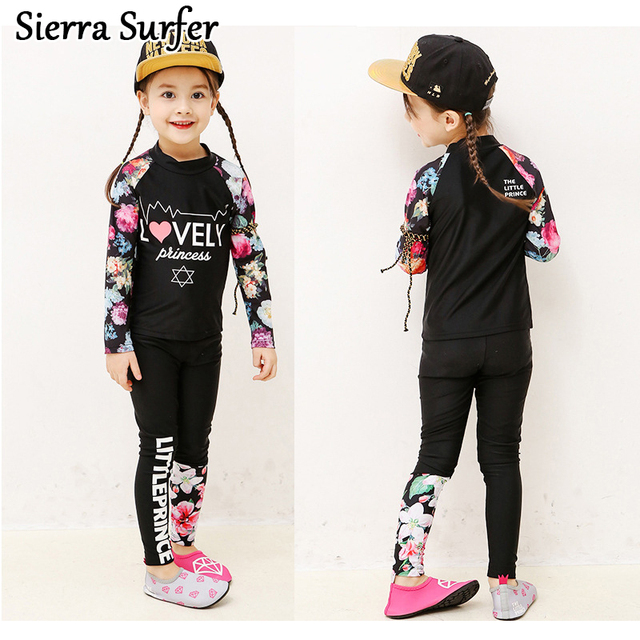 7e7c4ecc3e21 € 15.63 10% de DESCUENTO Los niños coreanos niños cuerpo traje de niñas y  niños y niñas de manga larga de impresión de ropa de protección ...