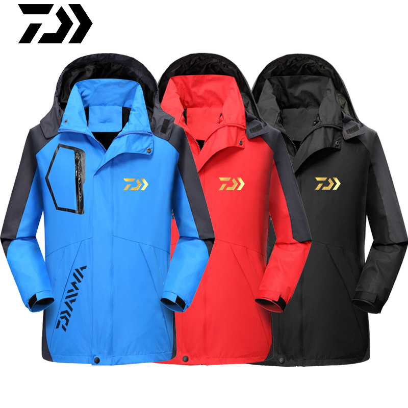 2020 DAIWA DAWA Fishing Clothes Autumn Winter Keep Warm Waterproof Jacket Outdoors Thicken Breathable Coat Fishing Windbreaker
