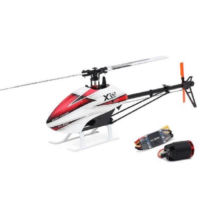 Kit hélicoptère ALZRC X360 FBL 6CH 3D volant RC avec moteur 2525 V4 50A sans balai ESC Standard Combo pour enfants