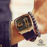 2019 Man Creative Wrist Watch Men Luxury Brand Male Clock Quartz Wristwatch Dual Time Zone Wrist Watch For Men Relogio Masculino