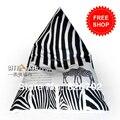 115 * 75 * 90 cm Zebra Stripe saco de feijão sofá tampa pufe preguiçoso sofá em qualquer lugar sentado portátil almofada