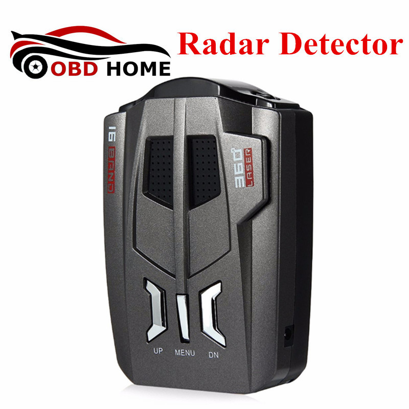 Dernière Conception V9 Voiture Détecteurs de Radar Avec Affichage LED Russe et Anglais Voix de Contrôle de Vitesse Détecteur De Voiture Anti Détecteur de Radar