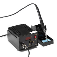 Durable Quality 967 110V 220V Black Metal Electric Rework Soldering Station Iron LCD Display High Quality