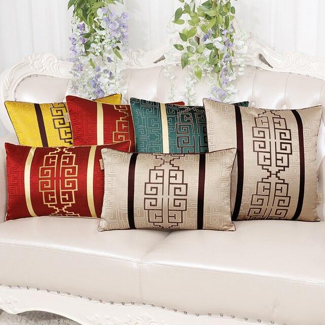 Classic Luxury Geometric Chinese Cushions Home Decor Sofa Chair Car