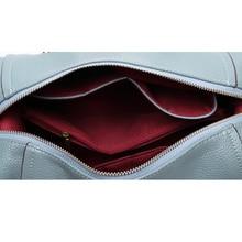 ESUFEIR New 2018 Embossed Leather Boston Women Handbag Fashion Pillow Women Bag Simple Shoulder Bag bolsos Ladies Bag sac a main