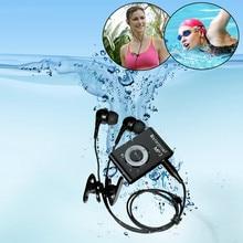 купить Mini Waterproof Swimming MP3 Player 4GB/8G Sports Running Horse Riding Walkman Music MP3 Player With FM Radio Hi-Fi Clip дешево