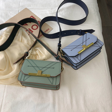 Leather Bags Womens Shoulder Bag Crossbody Messenger Clutch Sling Small Mini Green Flap Summer Fashion Vintage 2019 Tote