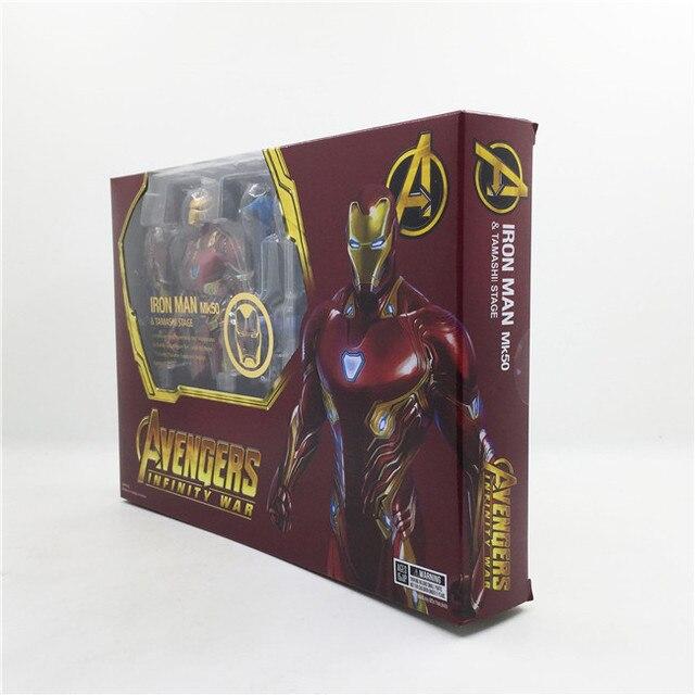 Фигурка Железный человек Marvel 16 см ПВХ 4