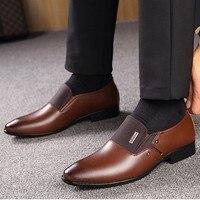 Leather Formal Shoes - Zapatos De Hombre De Vestir 3