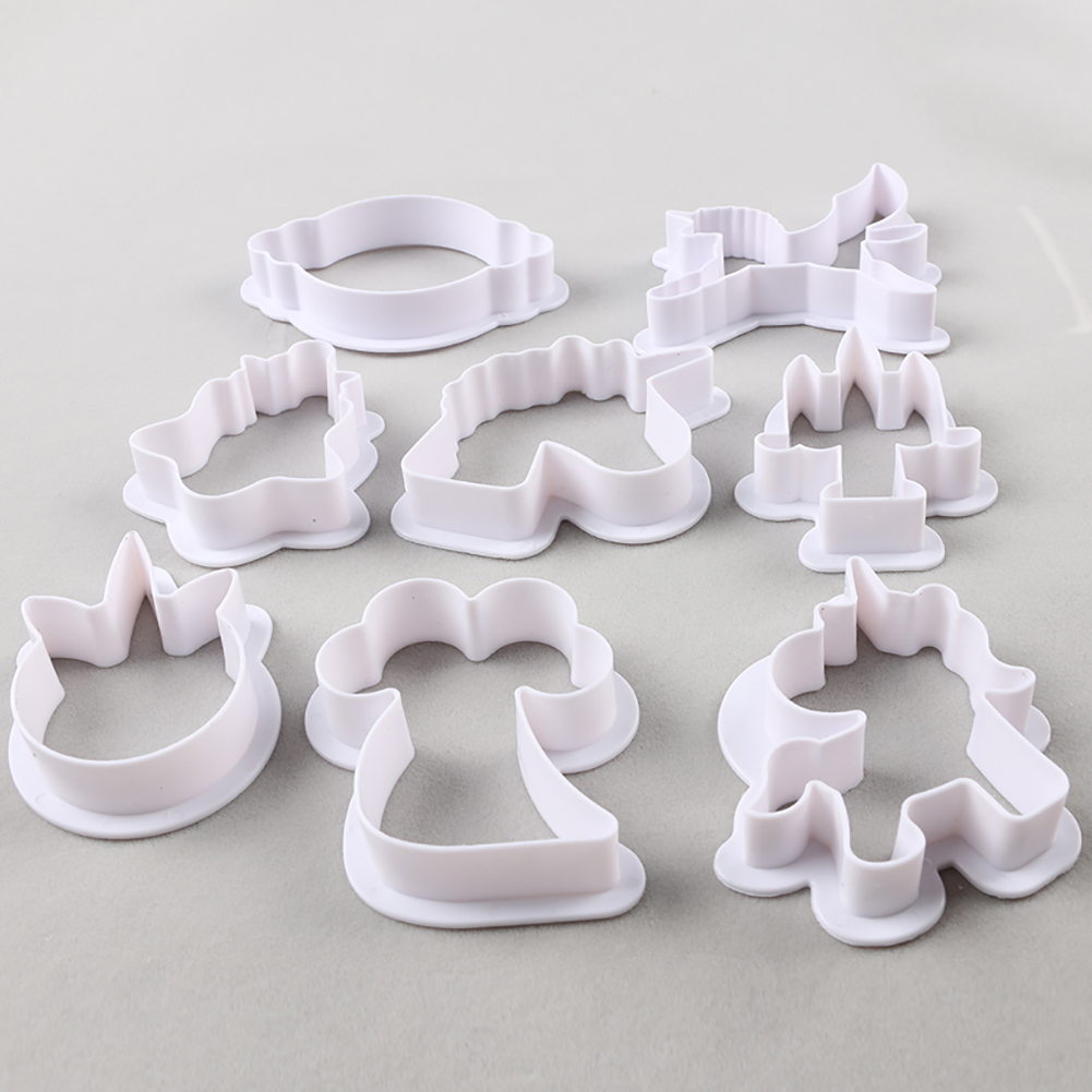 Unicorn Cookie Cutter Set (8pcs) 1