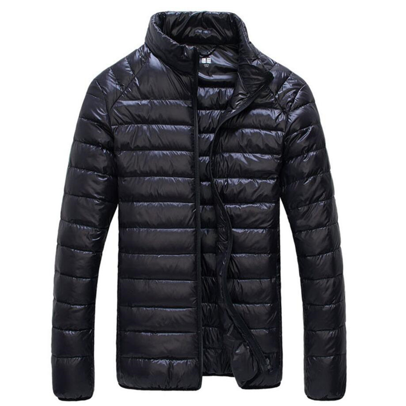 New Winter Downs Jacket Men Spring Casual Down Warm Jacket Coat Outwear jas heren vetement homme mens high fashion 50JK062(China)
