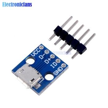 Модуль блока питания CJMCU, 10 шт., плата адаптера питания с интерфейсом Micro USB, 5 В, модуль прорыва для Arduino