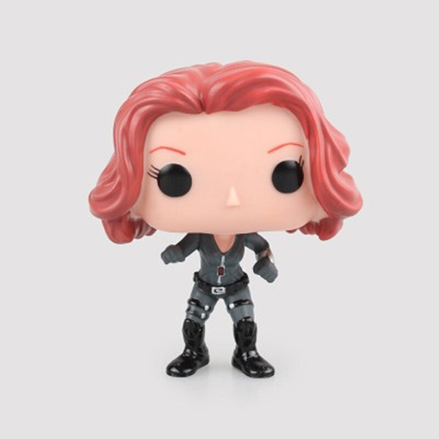 New Avengers Marvels Captain America Civil War Action Figure Black Widow Panther Winter Soldier Vinyl Christmas Birthday Gift