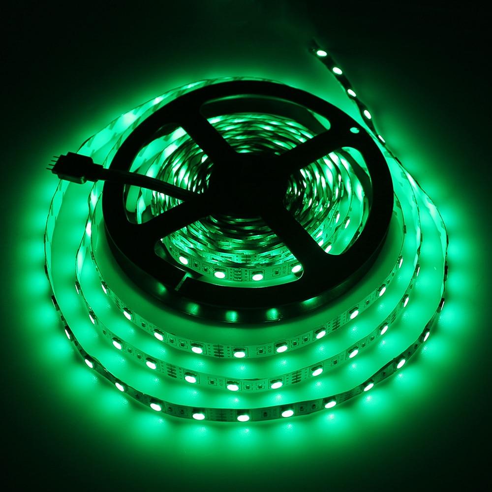 Taśma LED RGB Elastyczne światło SMD 5050 DC12V 5M 60 LEDED / m - Oświetlenie LED - Zdjęcie 5