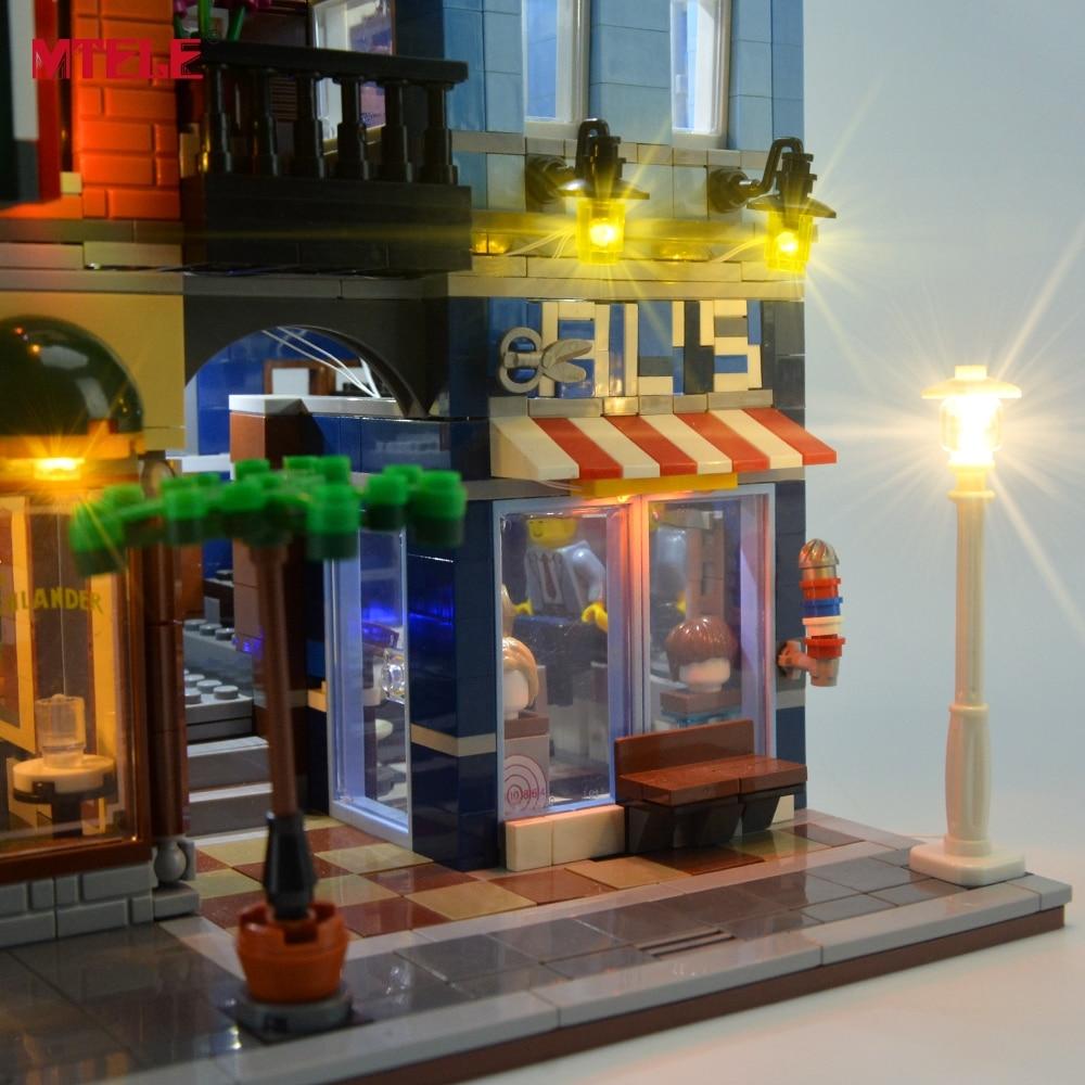 Komplet LED osvetlitve blagovne znamke MTELE za pisarniški komplet - Gradbeni igrače - Fotografija 4