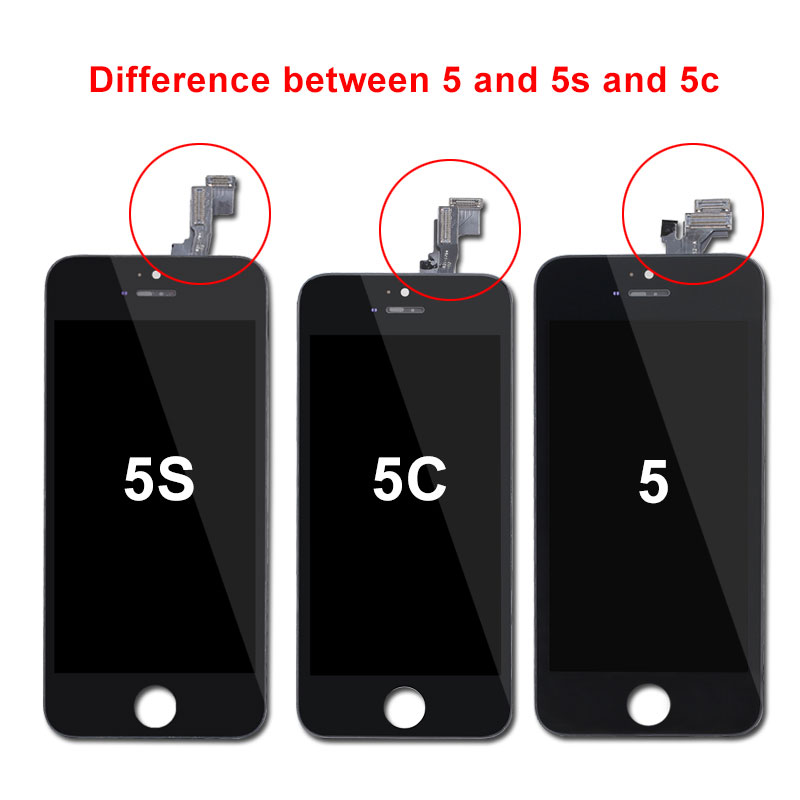 HTB1zlbBUgHqK1RjSZFEq6AGMXXai AAA Quality Tianma Glass Screen for iPhone 5S SE 5C 6 7 LCD with Touch Screen Digitizer pantalla for iPhone 6 iPhone 7 Screen