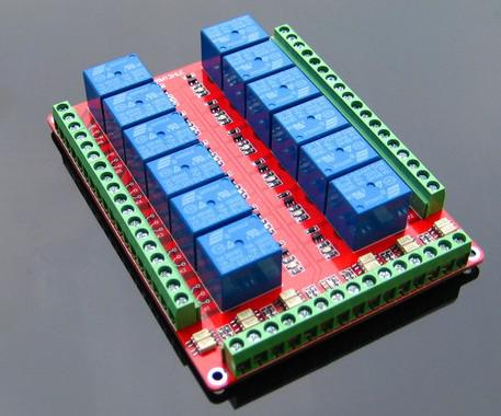 12 Channel Relay Module without light coupling 5v <font><b>12v</b></font> <font><b>24v</b></font> for <font><b>Arduino</b></font> image