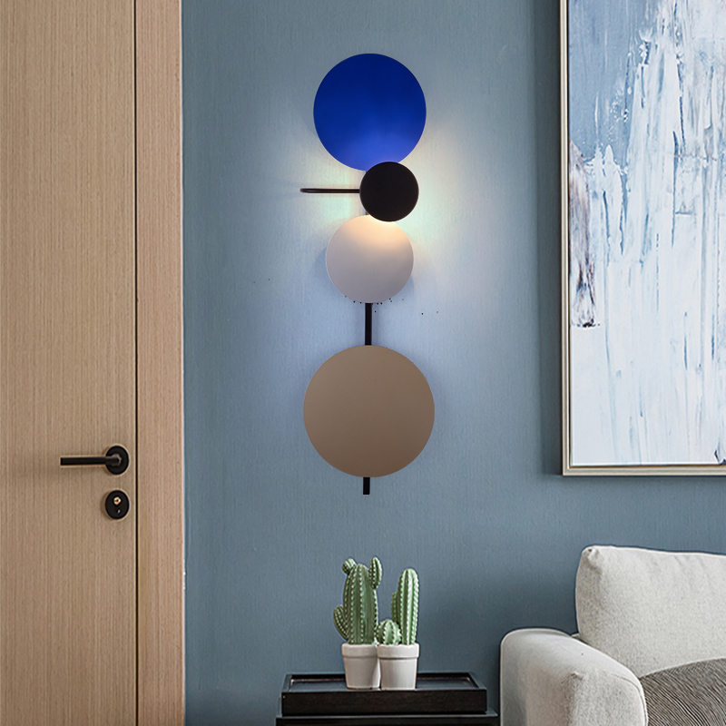 Nordic Living room Wall light American RH designer Bedroom aisle corridor hotel Art Decorative wall lamp