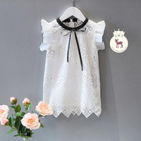 Newest Wholesale Cute Design Princess Summer Lace Dress Cute Design For Baby Girl