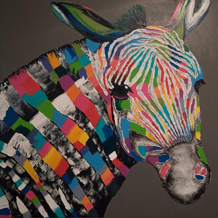 Achetez en gros z bre portrait en ligne des grossistes for Deco murale zebre