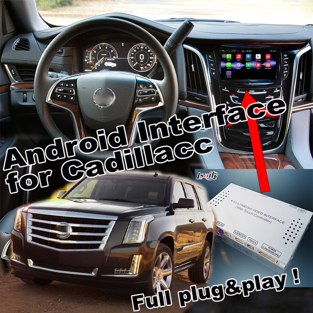 Plug&Play Android 6.0 Navigation Interface Two in one for 2014 2018