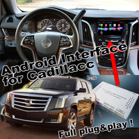 Plug Play Android 6 0 Navigation Interface Two In One For 2014 2018 Cadillac ATS CTS