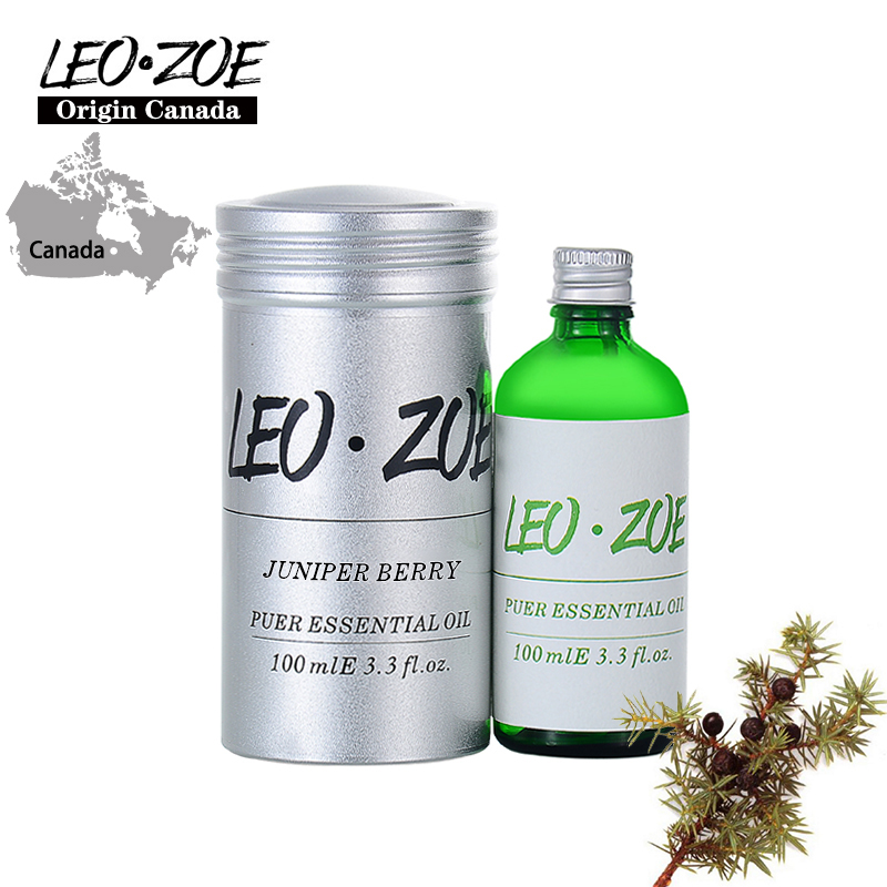 Well-Known Brand LEOZOE Juniper Berry Essential Oil Certificate Of Origin Canada High Quality Juniper Berry Oil 100ML creativity essential oil blend true botanical 100% pure and natural undiluted high quality therapeutic grade blend of rosemary clary sage hyssop marjoram cinnamon 5 ml