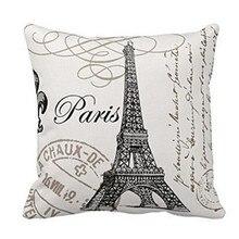 Tower Pillow Case Sofa Waist Throw Cushion Cover Home Decor