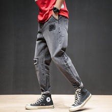 2019 New Brand Ripped Jeans Men Slim Fit Jean Pants Scratched Biker Jeans Men Urban Clothes Pantalones Rotos Hombre Pockets