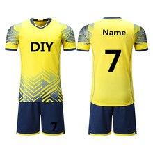 Children Kids Soccer Jerseys Set Survetement Football kit Futbol Youth Boy  Sports Train Tracksuit Uniforms Suit Maillot De Foot 93bb1ea28