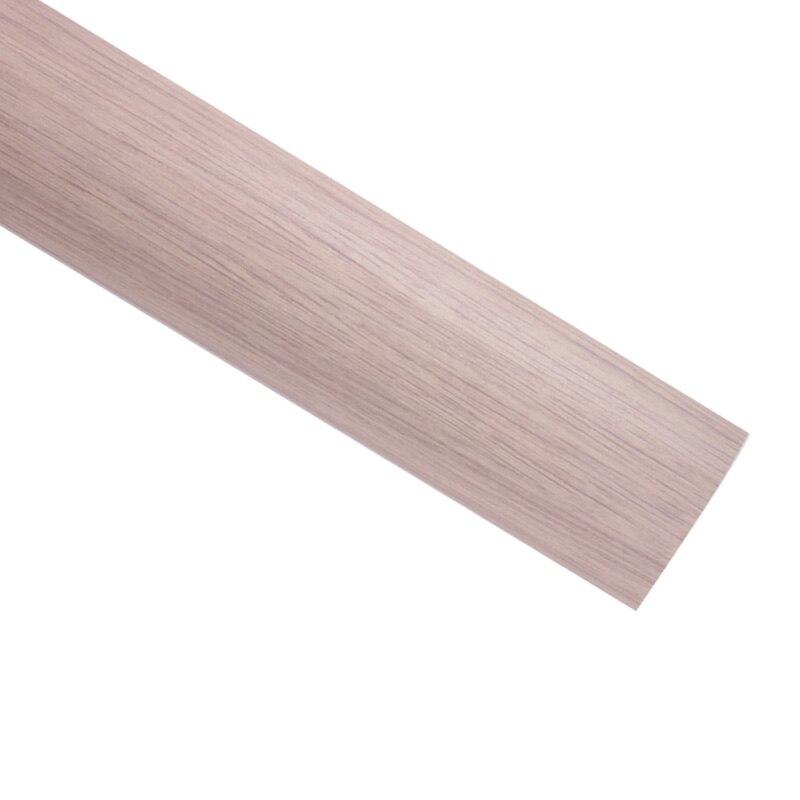 Intérieur de la voiture décoration autocollants meubles décoration vinyle PVC bois grain vinyle étanche porte pvc grain de bois papier-