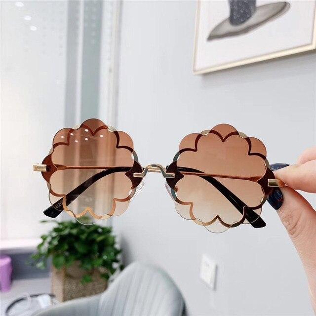 Flower Shape Sunglasses  4
