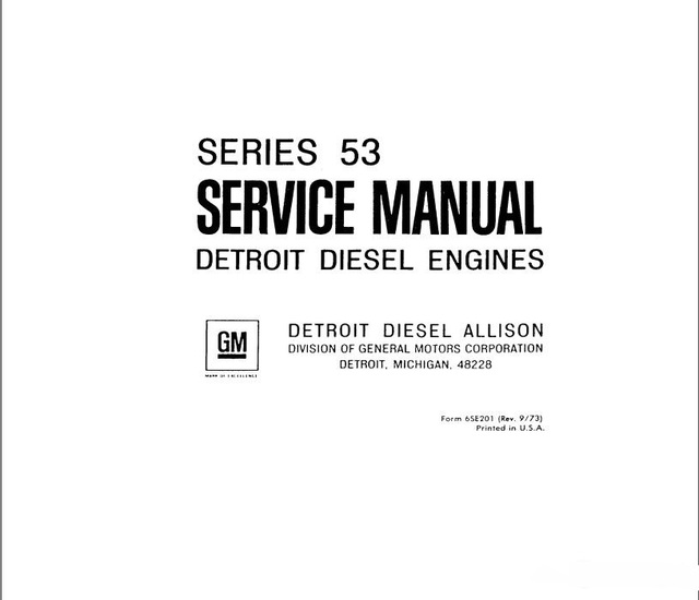 detroit diesel engines series 53 service manual in software from rh aliexpress com 2 Stroke Diesel Engine 4 Cylinder Diesel Engines