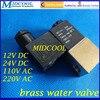 Micro Brass Water Valve 2V025 06 2 Position 2 Way Solenoid Valve 1 8 BSPP 12V