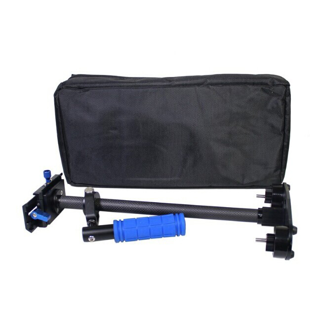 Mini S-60 Carbon Fiber Video Stabilizer for DSLR camera and DV camcorder Compatible with Steadicam Arm & Vest camera stabilizer s 60handheld mini handheld stabilizer for camcorder dv video camera dslr black blue