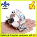 40 мм серебряный dj свет зажим/события ферменной конструкции зажим/производительность ферменная конструкция зажима