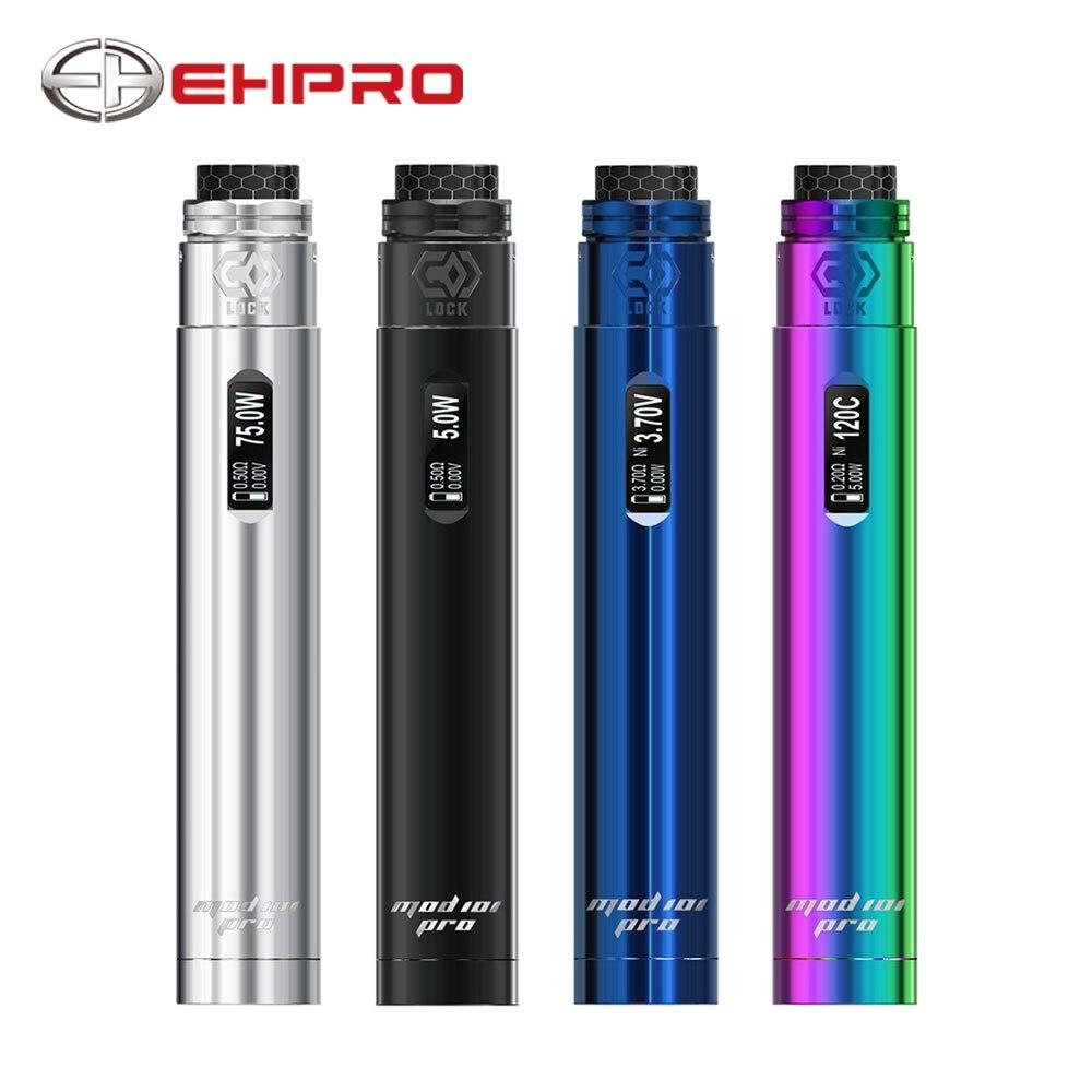 Ehpro 101 Pro Kit stylo-style TC Kit avec 75W Ehpro 101 Pro mécanique Mod simple bobine Froggy BF Rda & 0.69 pouces OLED Kit d'affichage