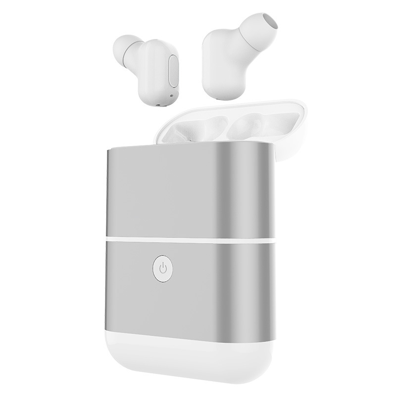 Invisible Twins True Wireless Bluetooth Earbuds Mini Bluetooth Headphone In-Ear Stereo TWS Wireless Earphones With Charging Box