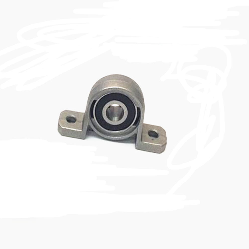 2PCS 25mm KP005 bearing insert bearing shaft support Spherical roller zinc alloy mounted bearings pillow block housing 17mm caliber zinc alloy mounted bearings kp003 ucp003 p003 insert bearing pillow block bearing housing