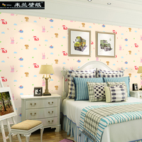 MILAN Cute Animal Wallpaper Roll For Walls Kids Home Decor Wall Papers For Living Room Environment