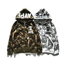 burtoner hoodie championer suprem Sweatshirt 3d Men bts palace yeezy Camouflage trasher hip hop assassins creed gymshark dsq nmd