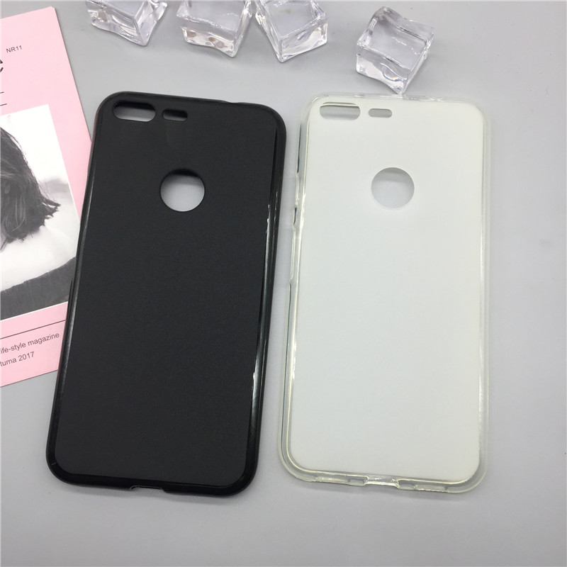 Case Soft Silicon Phone Para For Google Pixel Luxury TPU Fundas Protector Full Cover Shell Black Cases Coque