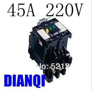CJX8-45 ac contactor B Series Contactor CJX8 b45 AC220V 45A 50/60HZ