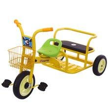 Такси трике тандем трехколесный велосипед для детей