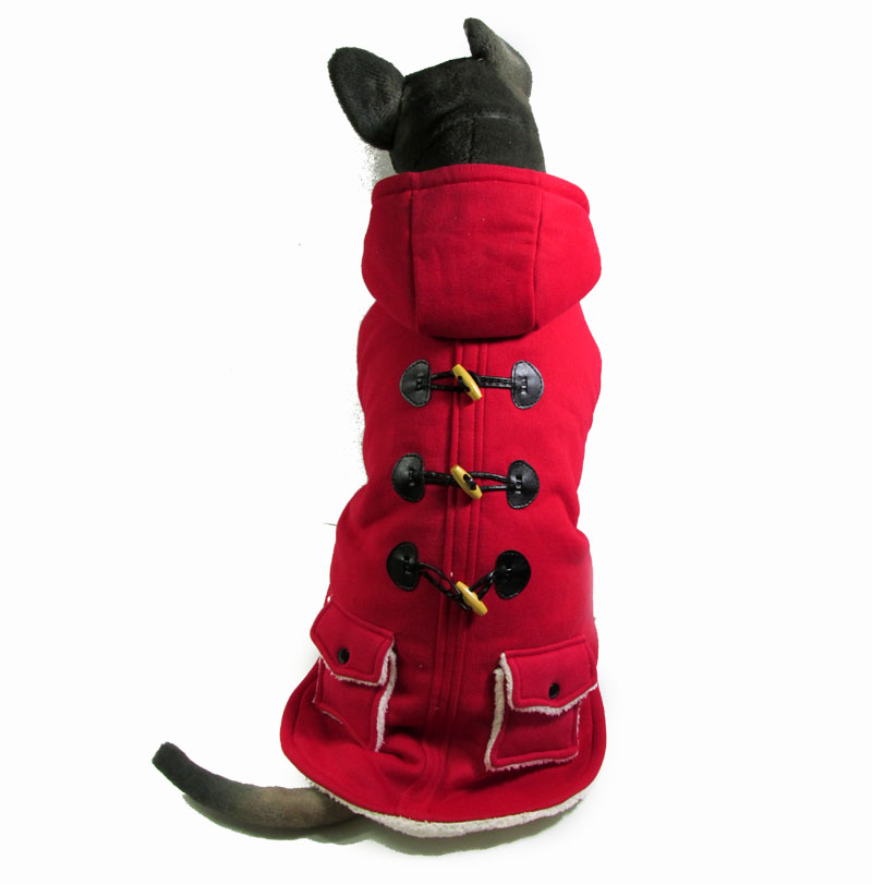 3color Thick Warm Big Dogs Clothes Large Pet Dogs Hoodies