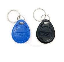 2 stks 125 khz TK4100 EM4100 RFID Tag Proximity Token Keyfobs RFID Card Key